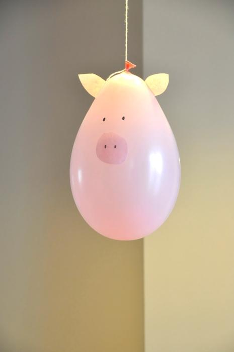 Ballon cochon Elodimoitout